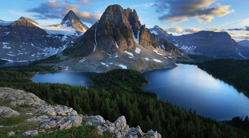Горы, озера, леса