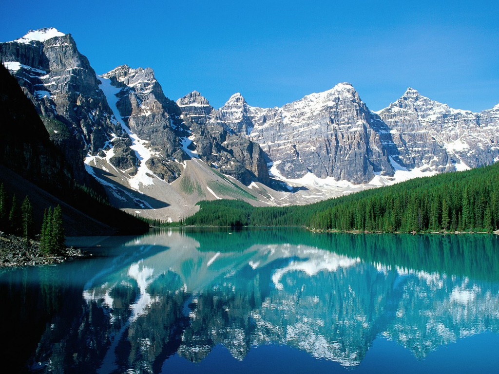 Moraine Lake and Valley of Ten peaks