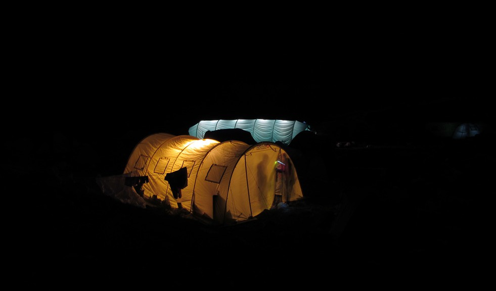 Ночная фотосъемка. Горы Кавказа