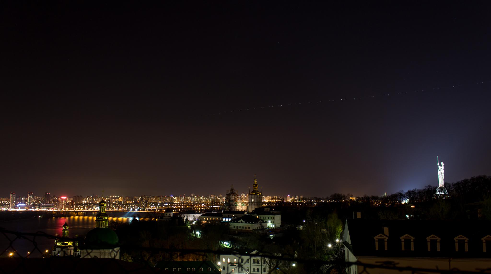 фото киева ночного
