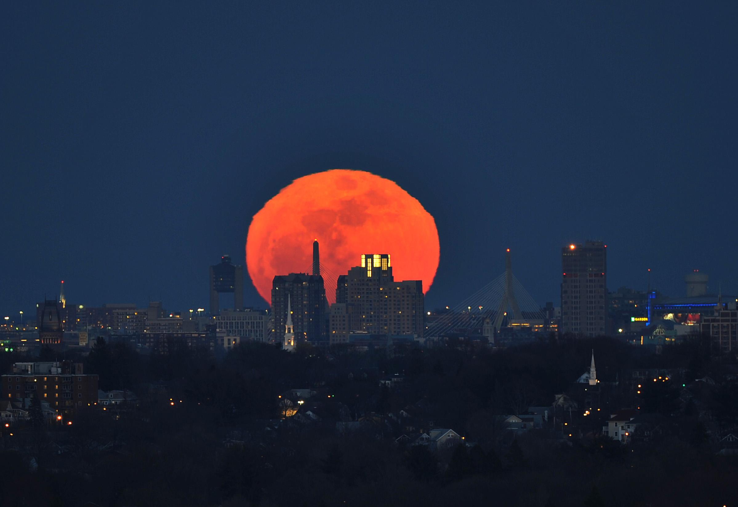 фотографии луны: