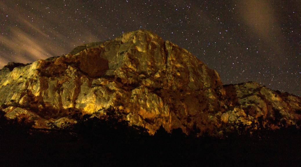 ФОТО МЕСЯЦА. Гора Куш-Кая ночью