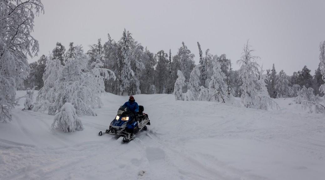 Северный Урал. Восхождения на снегоходах. Часть 3