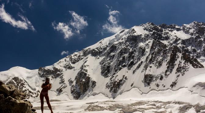 Попытка восхождения на Коштан-тау по северо-восточному гребню (4Б)