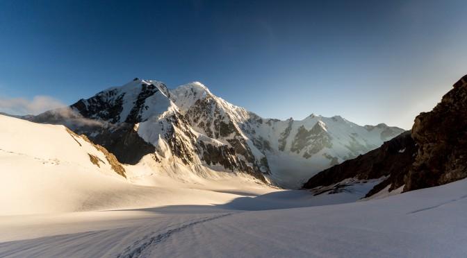 Широкоугольные фотографии горного района Кавказа — Безенги