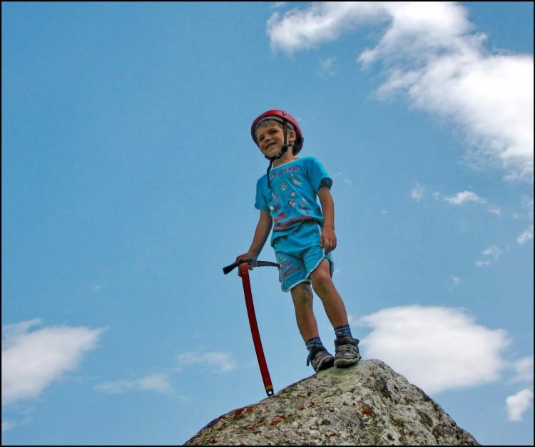 альпинизм начинается с детей