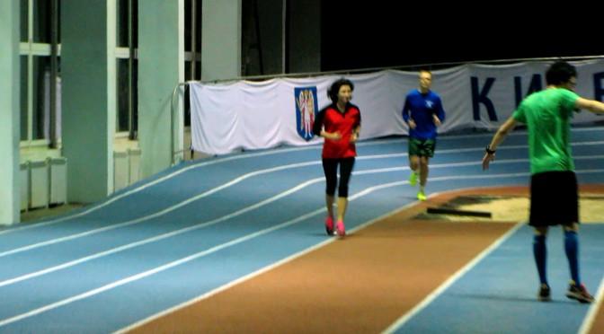 Первая беговая тренировка на скорость. Готовимся к соревнованиям