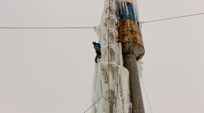 Ледолазание в Тольятти. Часть 2