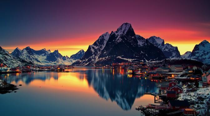 Загадочные горы Норвегии. Обзор района + фотографии высокого качества