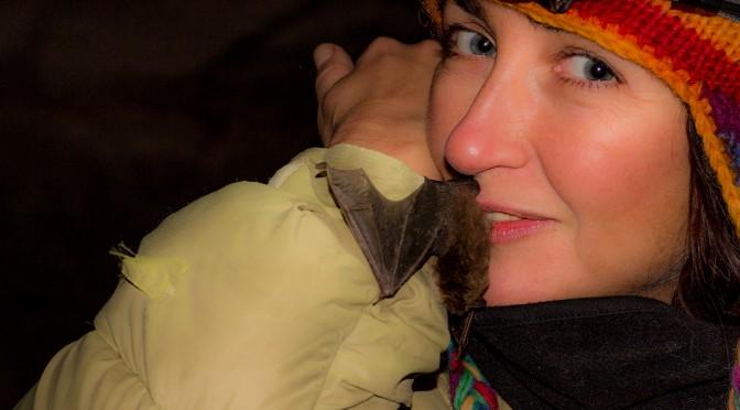 Поцелуй с летучей мышью :)