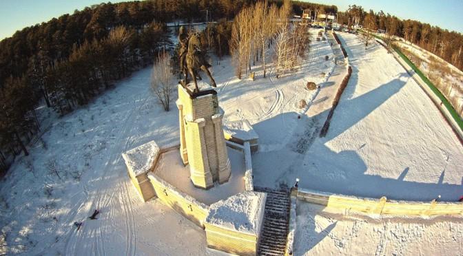 А в Тольятти весенняя зима!