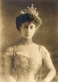 Formal Portrait Of Queen Maud Of Norway