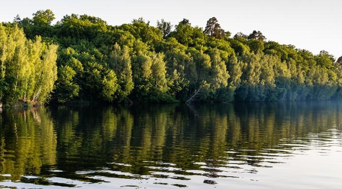 Сказочная природа каньона Дениши (Украина, Житомирская область). Часть 1
