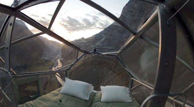 В Перуанских Андах открылся уникальный отель для туристов