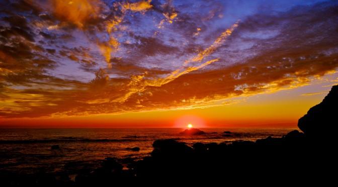 Закаты и рассветы. Красивые фотообои