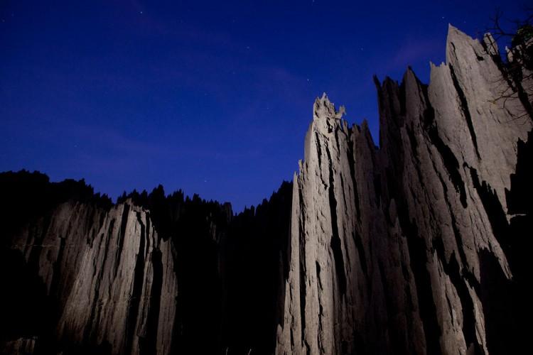 The Grand Tsingy north of Bekopaka
