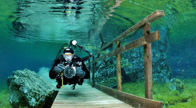 Уникальное и сказочно красивое Зеленое озеро (Grüner See) в Австрии. Подводный парк
