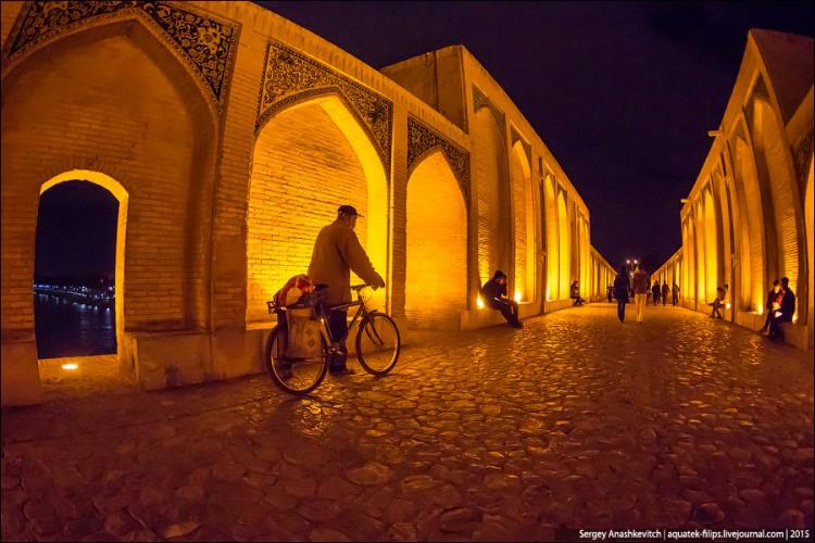 Исфахан, Иран, ноябрь 2015