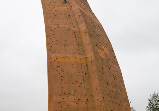 Самый высокий в мире скалодром — скалолазный центр Эскалибур в Голландии
