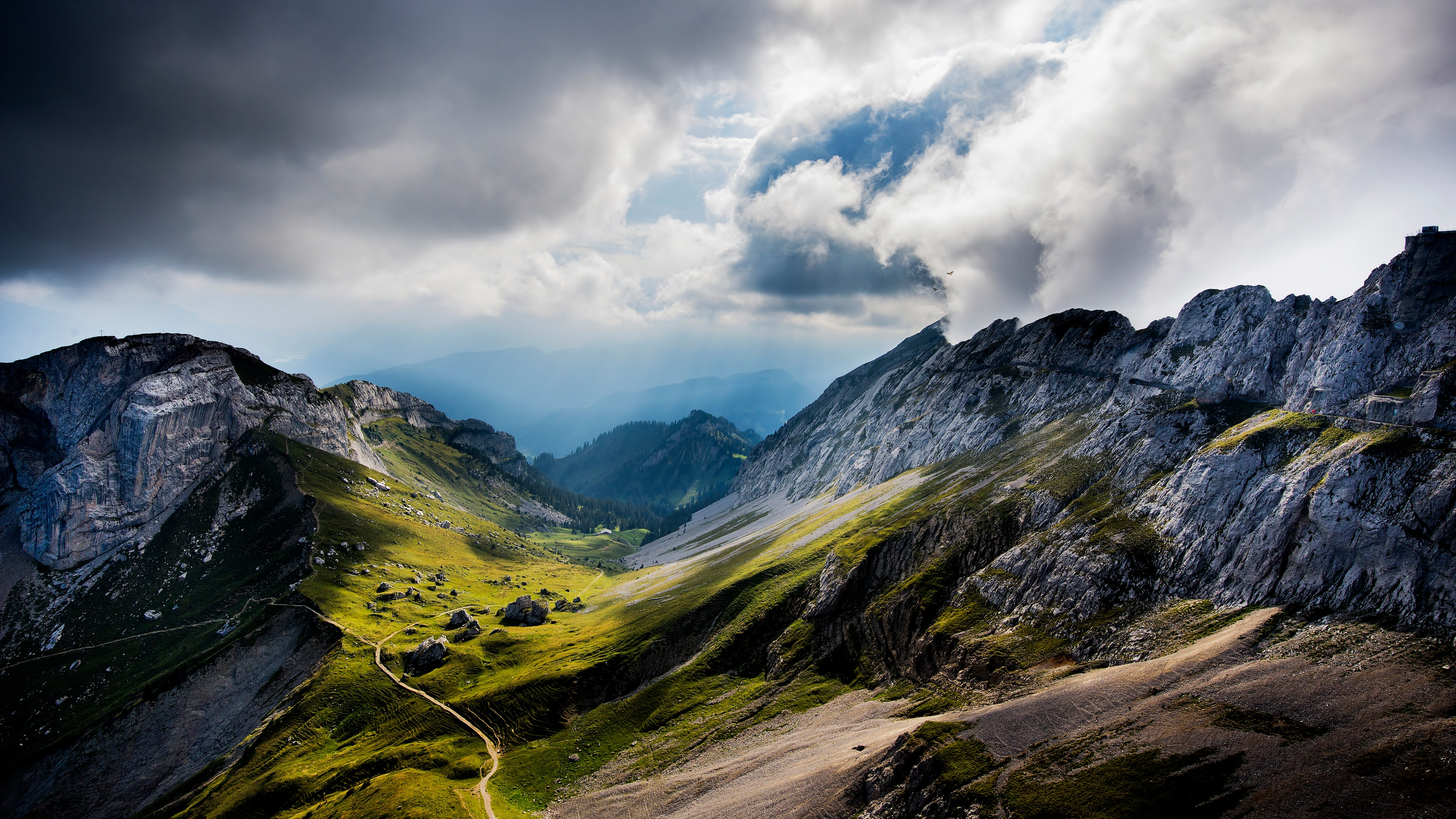 Alps Mountain HD Wallpapers Backgrounds Wallpaper