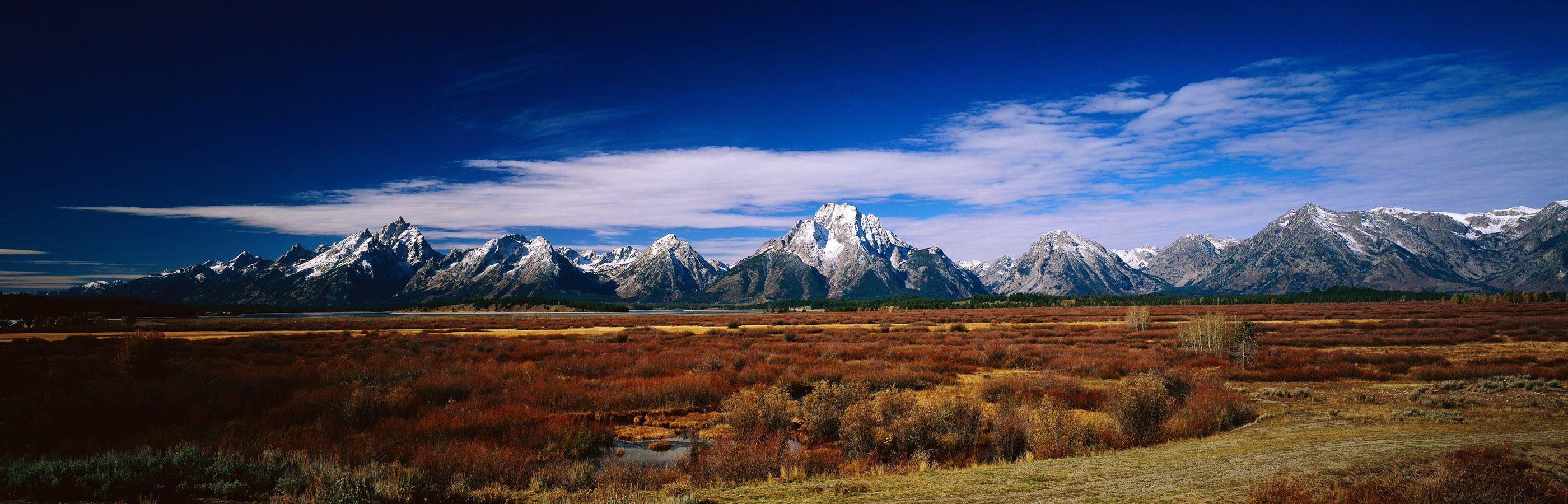 Пейзаж, панорама, горы, живописный