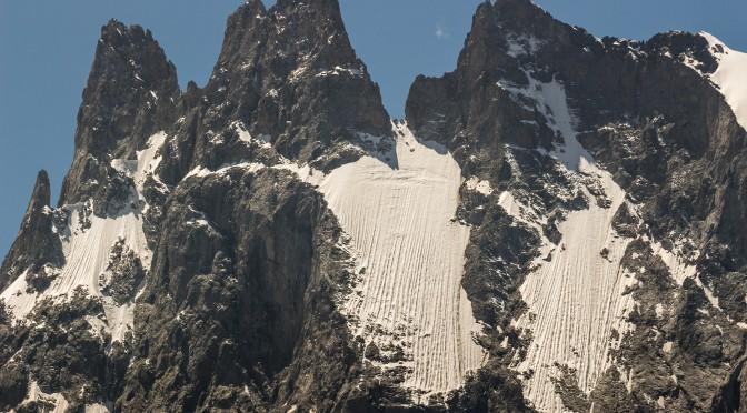 Фотографии гор Кавказа, выполненные на большом «зуме»