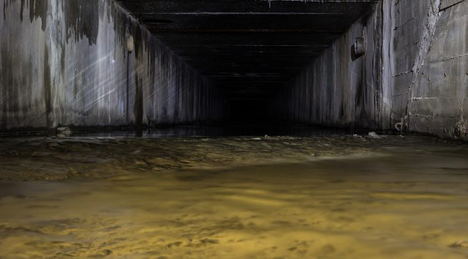 Подземная река Клов, Киев