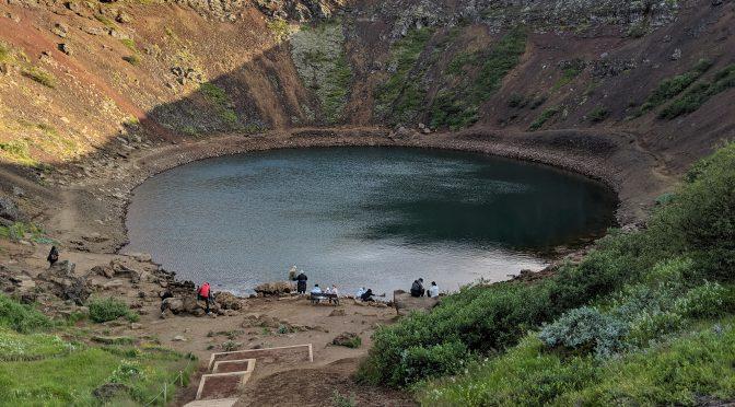 Удивительное путешествие вокруг Исландии. Часть 2 — вулканические озера