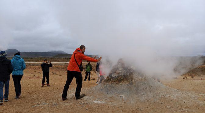Удивительное путешествие вокруг Исландии. Часть 4 — фумаролы и термальные источники